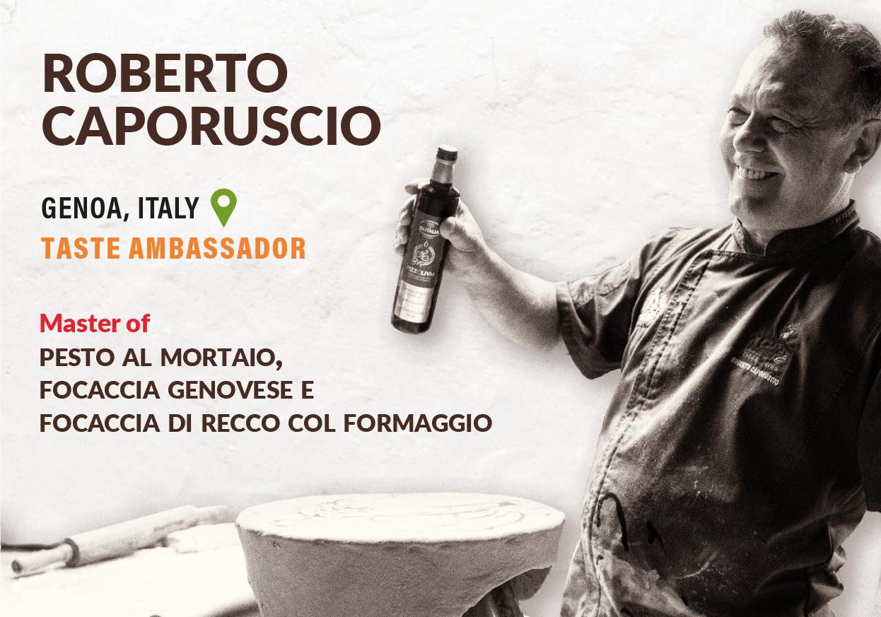 Roberto Taste Ambassador